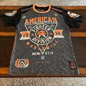 Men American Fighter T-Shirt